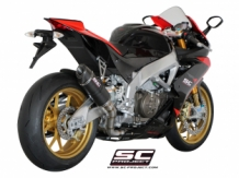 SC-Project Oval Racing Carbon met Carbon Endcap RSV-4 '09-'14