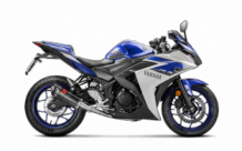 Akrapovic Racing Line Carbon Compleet Systeem zonder E-keur Yamaha YZF-R25 2014-2019