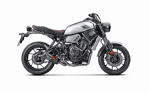 Akrapovic Racing Line Carbon Compleet Systeem zonder E-keur Yamaha XSR700 2016-2019