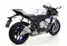 Arrow Indy Race Titanium Carbon-Endcap Yamaha R1 2015-2016