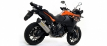 Arrow Maxi Race-Tech Aluminium met Carbon Endcap Einddemper met E-keur KTM Adventure 1090 2017 2018