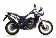 Arrow Maxi Race-Tech Aluminium Dark Slip-on Honda CRF1000L Africa Twin 2016-2017