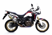Arrow Maxi Race-Tech Titanium Slip-on Honda CRF1000L Africa Twin 2016-2017