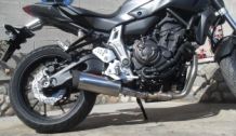 Endy XR-3 RVS Compleet Yamaha MT-07 Tracer 2014-2017
