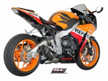 SC Project Slip On Ovaal Carbon CBR 1000 RR 08-13