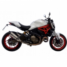Leovince LV One Evo RVS Ducati Monster 821 2014-2016