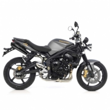 Leovince GP Style RVS Black Set Triumph Street Triple 675 2007-2012