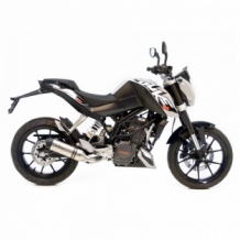Leovince LV One RVS KTM Duke 125 2011-2016