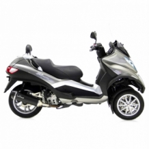 Leovince Nero Slip-on Piaggio MP3 400 2007-2012