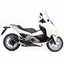 Leovince Nero Slip-on RVS Honda INTEGRA 700/DCT/ABS 2012 2013