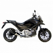 Leovince Nero Slip-on RVS Honda NC 700 S/X/DCT/ABS 2012 2013