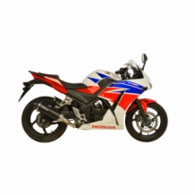 Leovince Nero Slip-on RVS Honda CBR 300 R 2014 2017