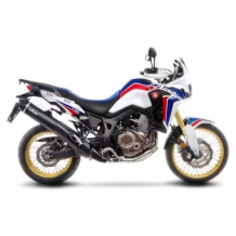 Leovince Nero Slip-on RVS Honda CRF 1000 L AFRICA TWIN ABS 2016 2017