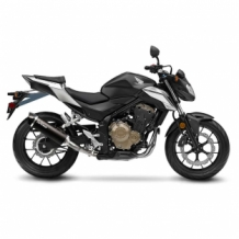 Leovince Nero Slip-on RVS Honda CB 500 F 2016 2017