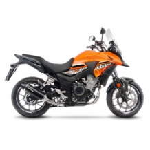 Leovince Nero Slip-on RVS Honda CB 500 X 2017