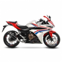 Leovince Nero Slip-on RVS Honda CBR 500 R 2016 2017