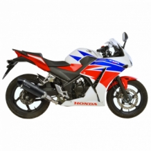 Leovince LV One Evo RVS Slip-on Honda CBR 300 R 2013-2016