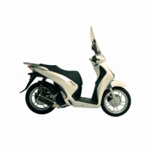 Leovince Nero Compleet Systeem 1in1 RVS Honda SH 125i/ABS 2013 2016