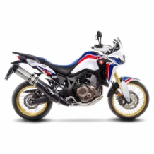 Leovince LV One Evo Slip-on RVS Honda CRF 1000 L AFRICA TWIN 2016 2017