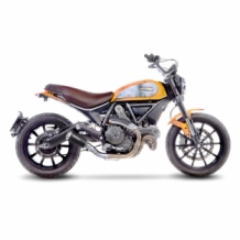 Leovince LV-10 Black Slip-on RVS Ducati SCRAMBLER 800 ICON/CLASSIC 2015 2018