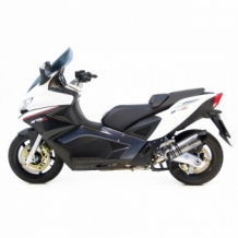 Leovince LV One Evo Slip-on RVS Aprilia SRV 850 2012 2016