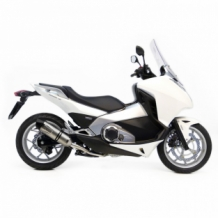 Leovince LV One Evo Slip-on RVS Honda INTEGRA 700/DCT/ABS 2012 2013