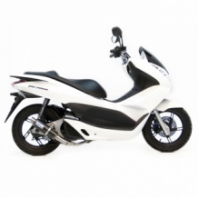 Leovince GP Corsa Compleet Systeem 1in1 Carbon Honda PCX 125 2012 2015