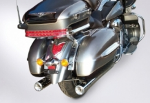 Miller Magellan Slip-on Set Polished Kawasaki VN 1700