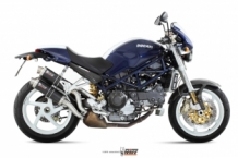 Mivv GP Carbon Slip-on Set Ducati Monster S2R 1000 2006-2007