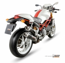 Mivv GP Carbon Slip-on Set Ducati Monster S4Rs 2006-2008