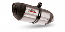 Mivv Suono RVS met Carbon Cap Compleet Systeem 2-1 YAMAHA Tracer 700 2016 >