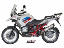 SC Project SC1 Oval Titanium Slip-on BMW R1200GS 2010 2012