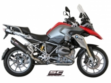 SC Project SC1 Matt Carbon Slip-on BMW R1200GS 2013 2016