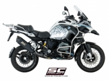 SC Project Adventure Titanium Black Slip-on BMW R1200GS 2017 2018