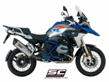 SC Project Adventure Titanium Slip-on BMW R1200GS 2017 2018