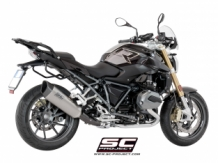 SC Project SC1-R Titanium Slip-on BMW R1200R 2017 2018