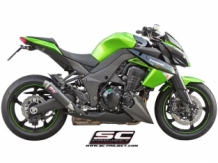 SC Project GP M2 Carbon Slip-on Set Kawasaki Z1000 / SX 2010 2013