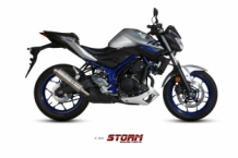 Storm GP RVS Yamaha MT03 2016-2017