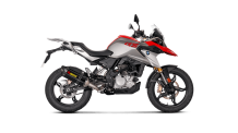 Akrapovic Racing Line Carbon Compleet Systeem zonder E-keur BMW G 310 GS 2017-2019