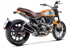 Leovince GP Duals Slip-on RVS Black incl. Katalysator Ducati SCRAMBLER 800 ICON/CLASSIC 2015 2016