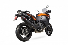 Scorpion Exhaust Serket Black Ceramic Einddemper zonder E-keur KTM 1090 Adventure 2017 2018